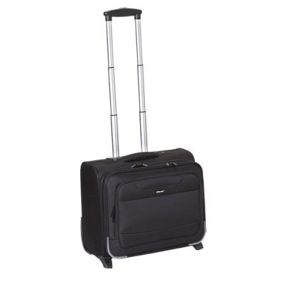 99e8846825 Τσάντα Επαγγελματική Καμπίνας Diplomat ZC6017-45 Pilot Trolley Μαύρη