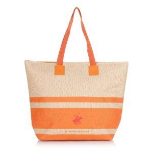 eb18666383 Επώνυμες και εκκεντρικές τσάντες θαλάσσης του διάσημου brand Polo Beverly  Hills από βαμβακερό ύφασμα ή ψάθα και μοναδικές τιμές από 15€ !
