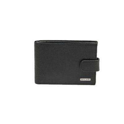 9499587289 Ανδρικό Πορτοφόλι Δερμάτινο Lavor 7526 Μαύρο RFID Sim Sd