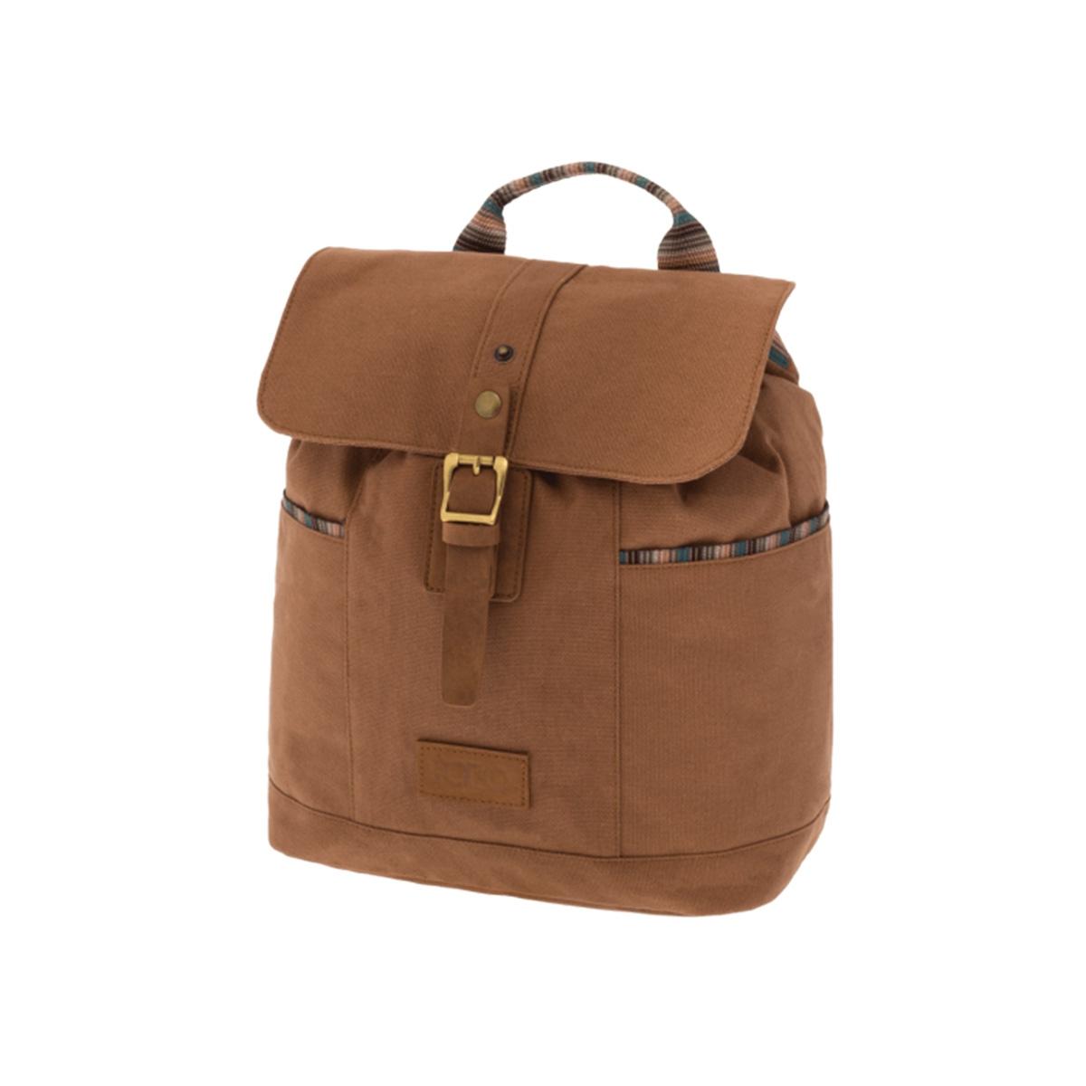 6cc8b6802972 Σακίδιο Πλάτης Polo Backpack Canvas Lady 9-07-152-36 Καφέ Προσφορά ...