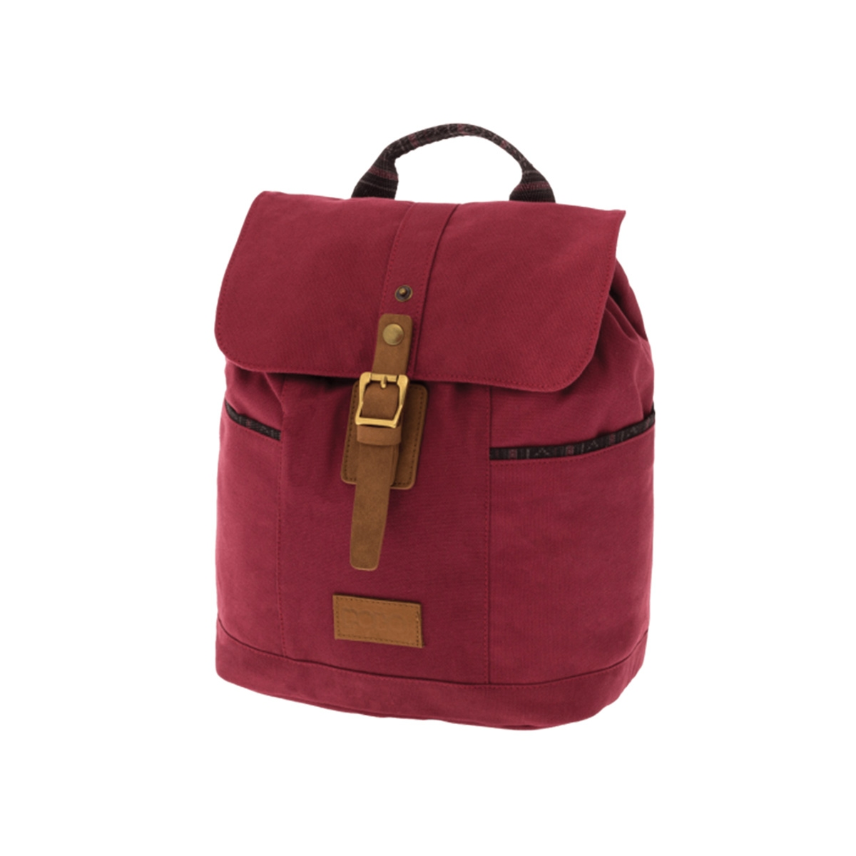 9db3e6b605 Σακίδιο Πλάτης Polo Backpack Canvas Lady 9-07-152-46 Μπορντό ...