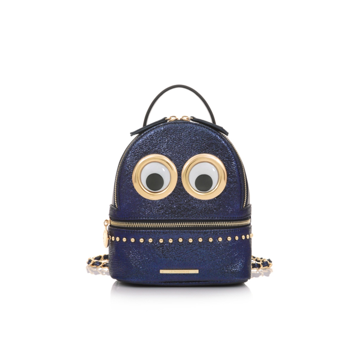 362291abb1 Σακίδιο Πλάτης Le Pandorine Eyes Mini Backpack DAJ02229-01 Μπλε Μοβ ...