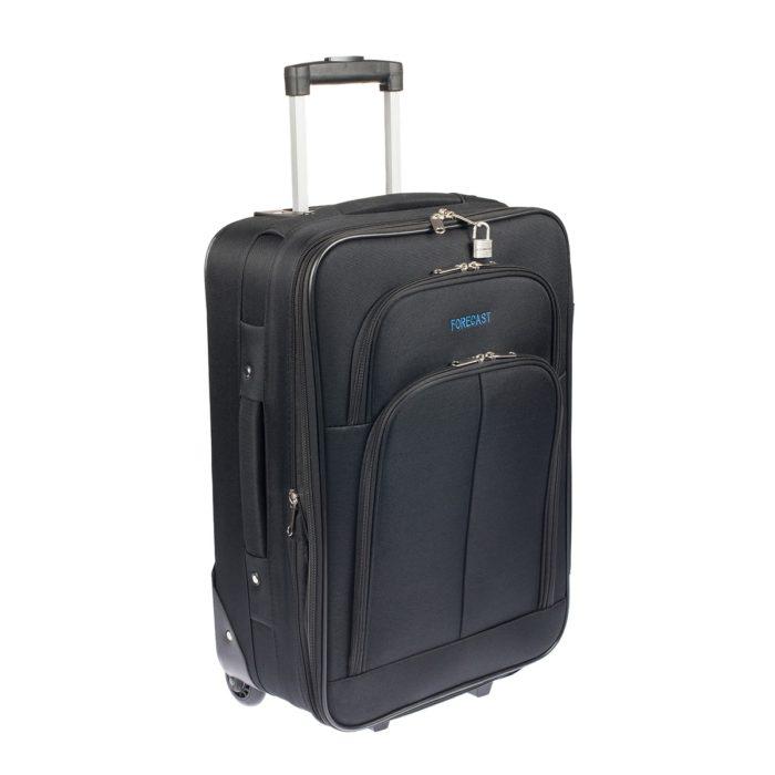 Βαλίτσα Καμπίνας Υφασμάτινη Forecast LG73 Μαύρη