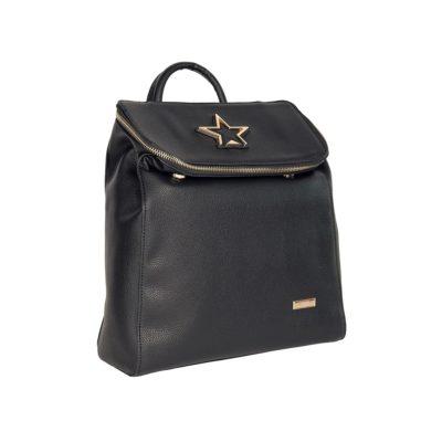 Σακίδιο Πλάτης Με Αστέρι Savil Backpack 18-67 Μαύρο c8325877f28
