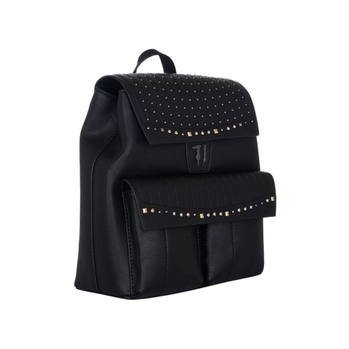 6215c053ee Σακίδιο Πλάτης Με Τρουκς Trussardi Jeans Curcuma Backpack 75B00508 Μαύρο