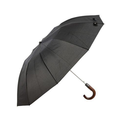 Αντιανεμική Ομπρέλα Βροχής Guy Laroche 8109 Μαύρη