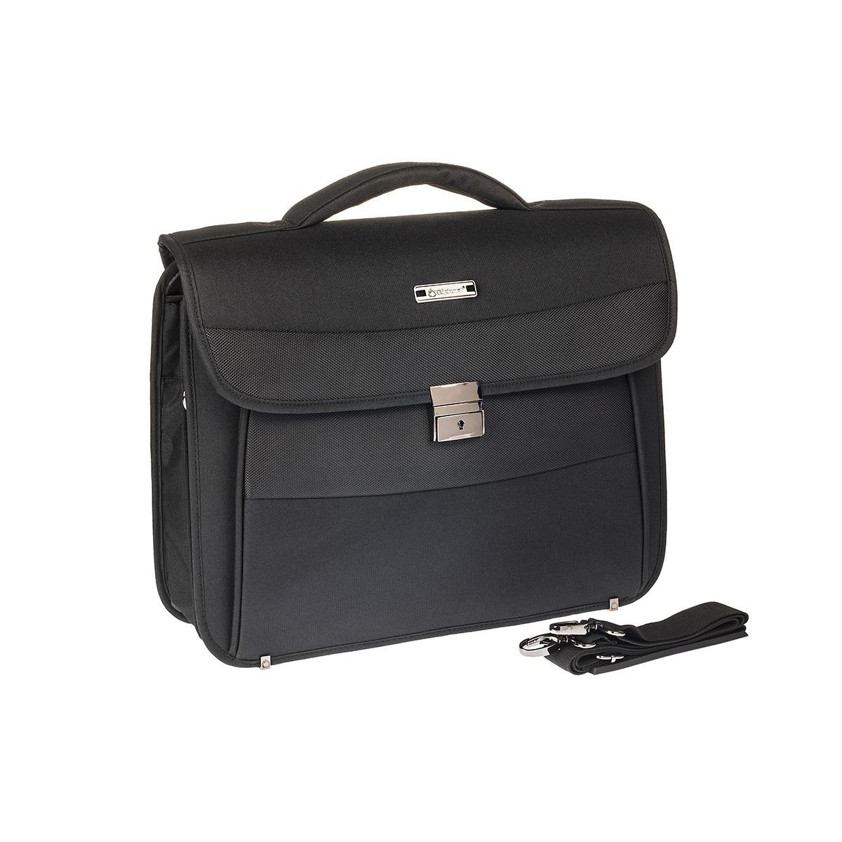 7a88ea5d54 Επαγγελματική Τσάντα Διθέσια – Χαρτοφύλακας Laptop 15.6″ Diplomat 33cm  BL212 Μαύρη
