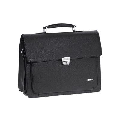 6e5358cd1a Επαγγελματική Τσάντα Laptop 14″ – Χαρτοφύλακας Με Κλειδαριά Diplomat 34cm  YT152 Μαύρη