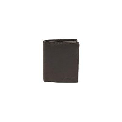 Δερμάτινο Πορτοφόλι Μικρό Όρθιο Με Εσωτερικό Κούμπωμα Lavor RFID 7132 Καφέ 3c2da334d11