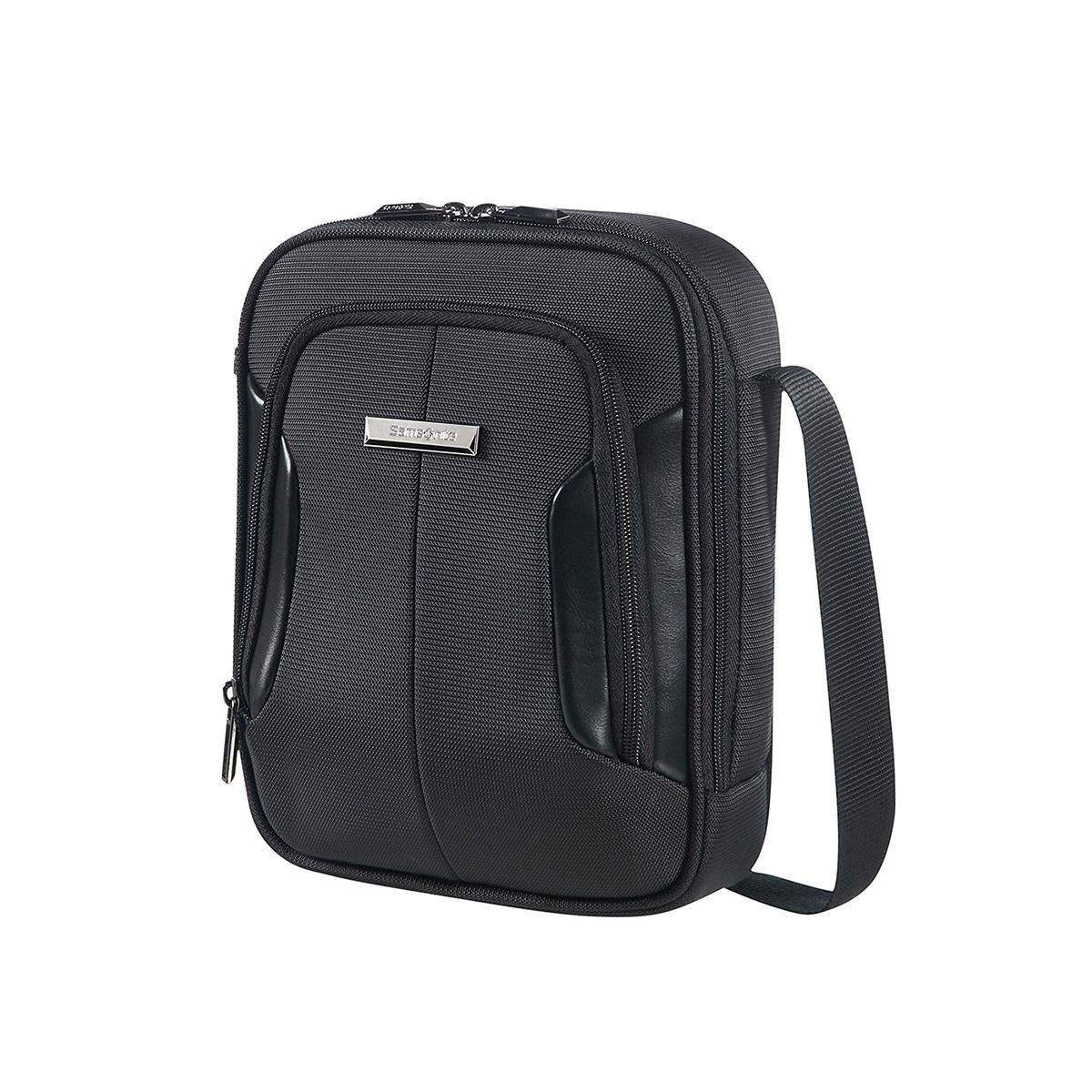 SAMSONITE 75213 Μαύρη Τσάντα Ώμου-Χιαστί