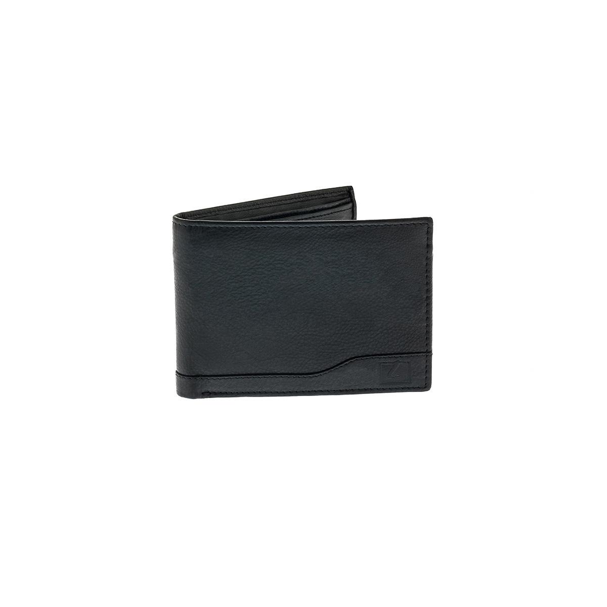 029da7c8bb Δερμάτινο Πορτοφόλι Μεγάλο Με Φερμουάρ Χαρτονομισμάτων Lavor RFID 7105 Μαύρο