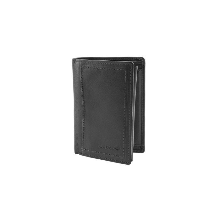 LAVOR 3211 Μαύρο Πορτοφόλι Ταυτότητας Όρθιο Rfid