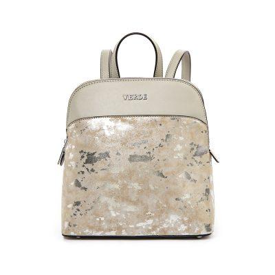 74e9dff7d8 Σακίδιο Πλάτης Verde Backpack 16-4992 Mirror Ασημί