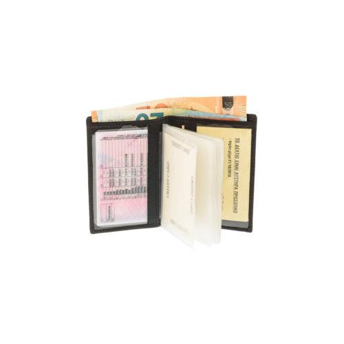 Diplomat MN100 Πορτοφόλι Δερμάτινο Μικρό Λεπτό
