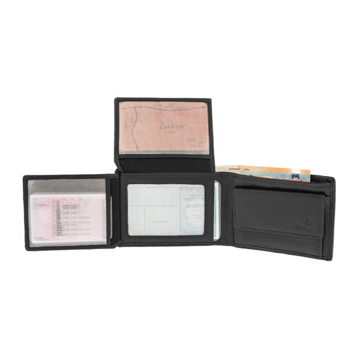 LAVOR 7105 Μαύρο Πορτοφόλι Ανδρικό Ταυτότητας