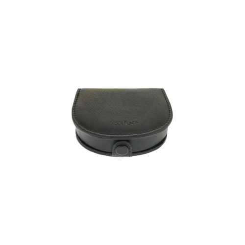 LAVOR 70 Μαύρο Πορτοφόλι Κερμάτων-Καβουράκι Δερμάτινο