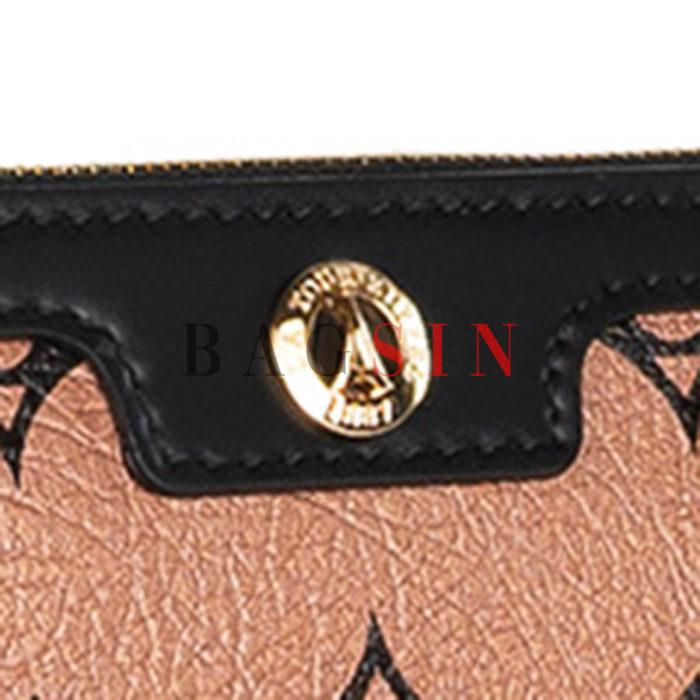 Τσάντα Ώμου – Φάκελος Με Λαβή La Tour Eiffel Monogram 36-151006 Μπρονζέ-Μαύρη