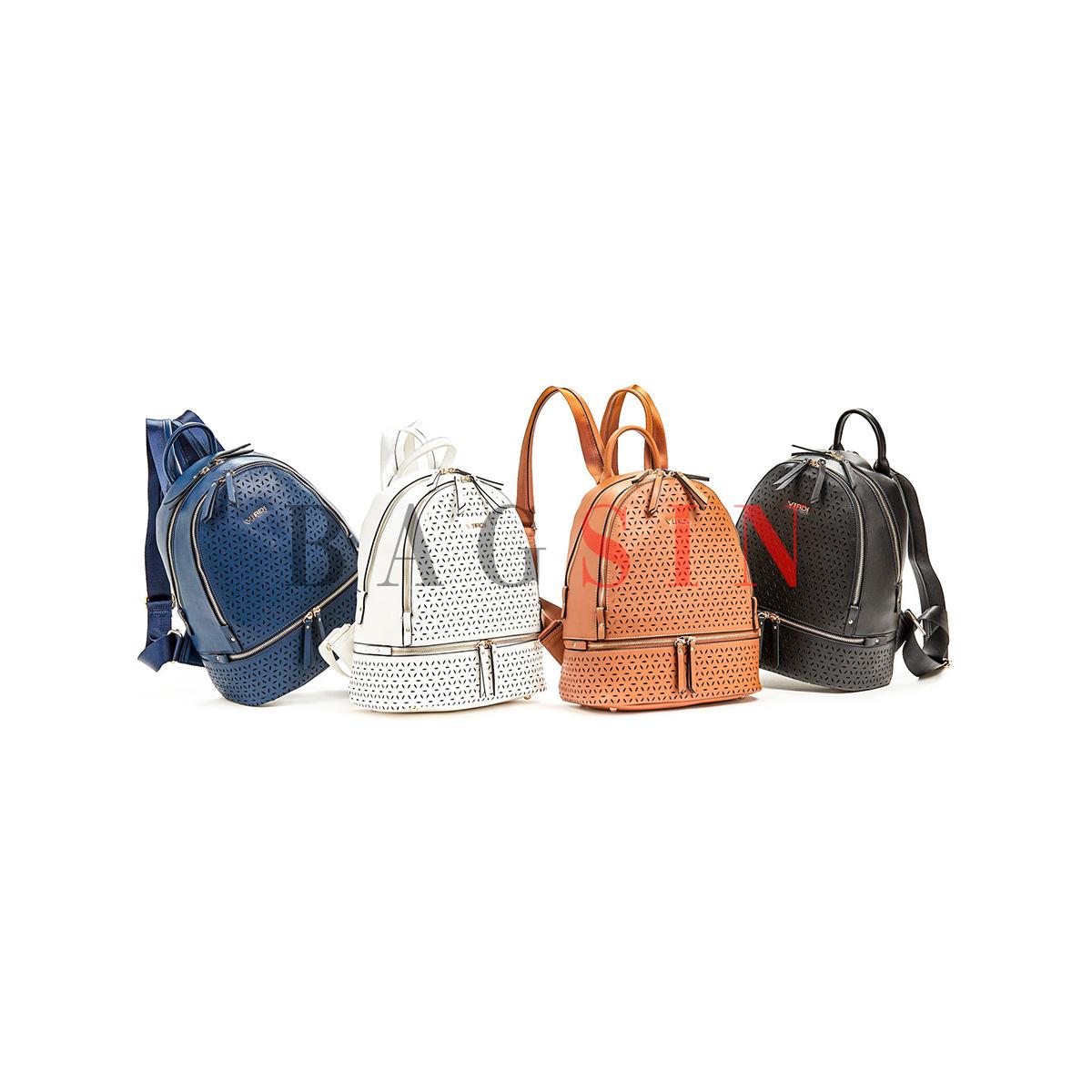 Σακίδιο Πλάτης Δίχωρο Verde Backpack 16-5929 Διάτρητο