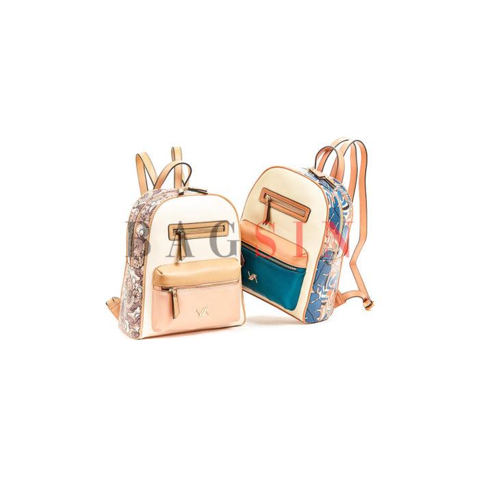 Σακίδιο Πλάτης Με Floral Τύπωμα Verde Backpack 16-5857
