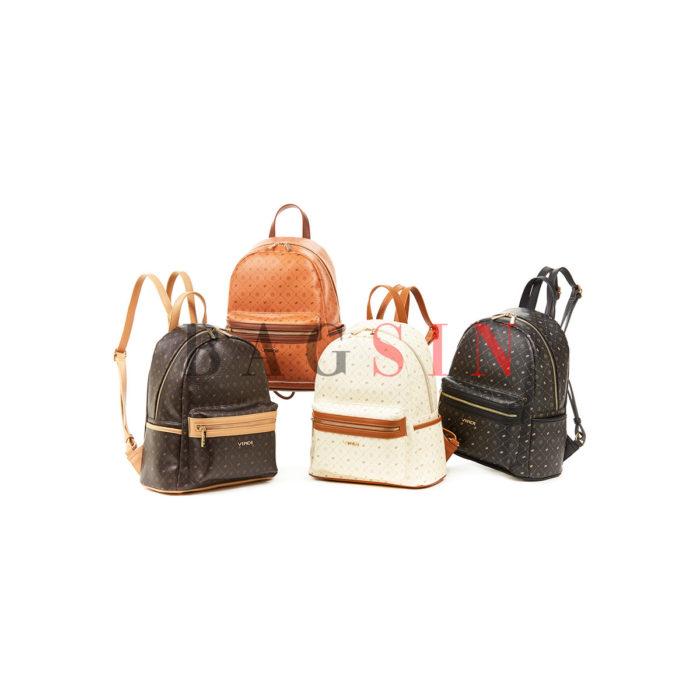 Σακίδιο Πλάτης Με Λογότυπο Verde Backpack 16-6011