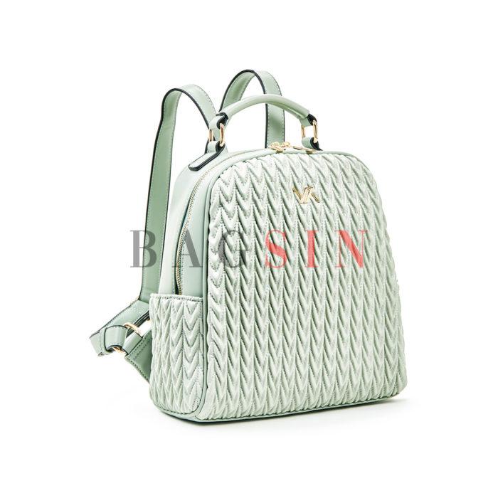 Σακίδιο Πλάτης Καπιτονέ Verde Backpack 16-5853 Μέντα