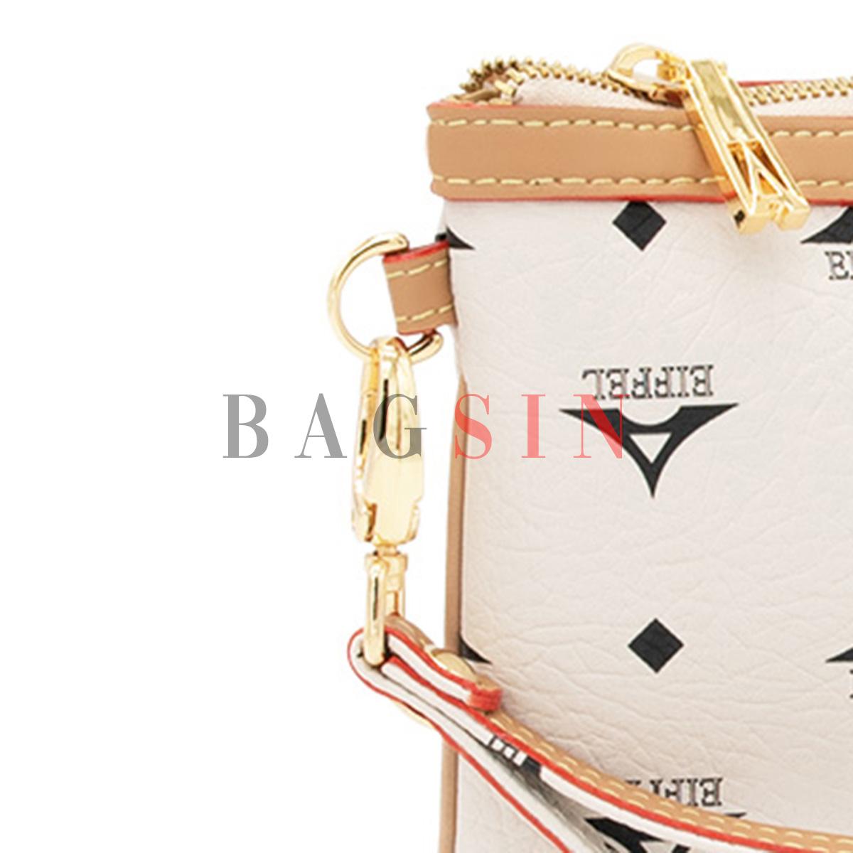 Τσάντα Ώμου – Φάκελος Με Λαβή La Tour Eiffel Monogram 36-151006 Εκρού-Μπεζ