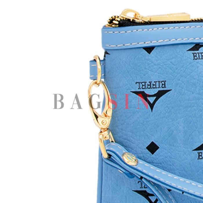 Τσάντα Ώμου – Φάκελος Με Λαβή La Tour Eiffel Monogram 36-151006 Γαλάζια
