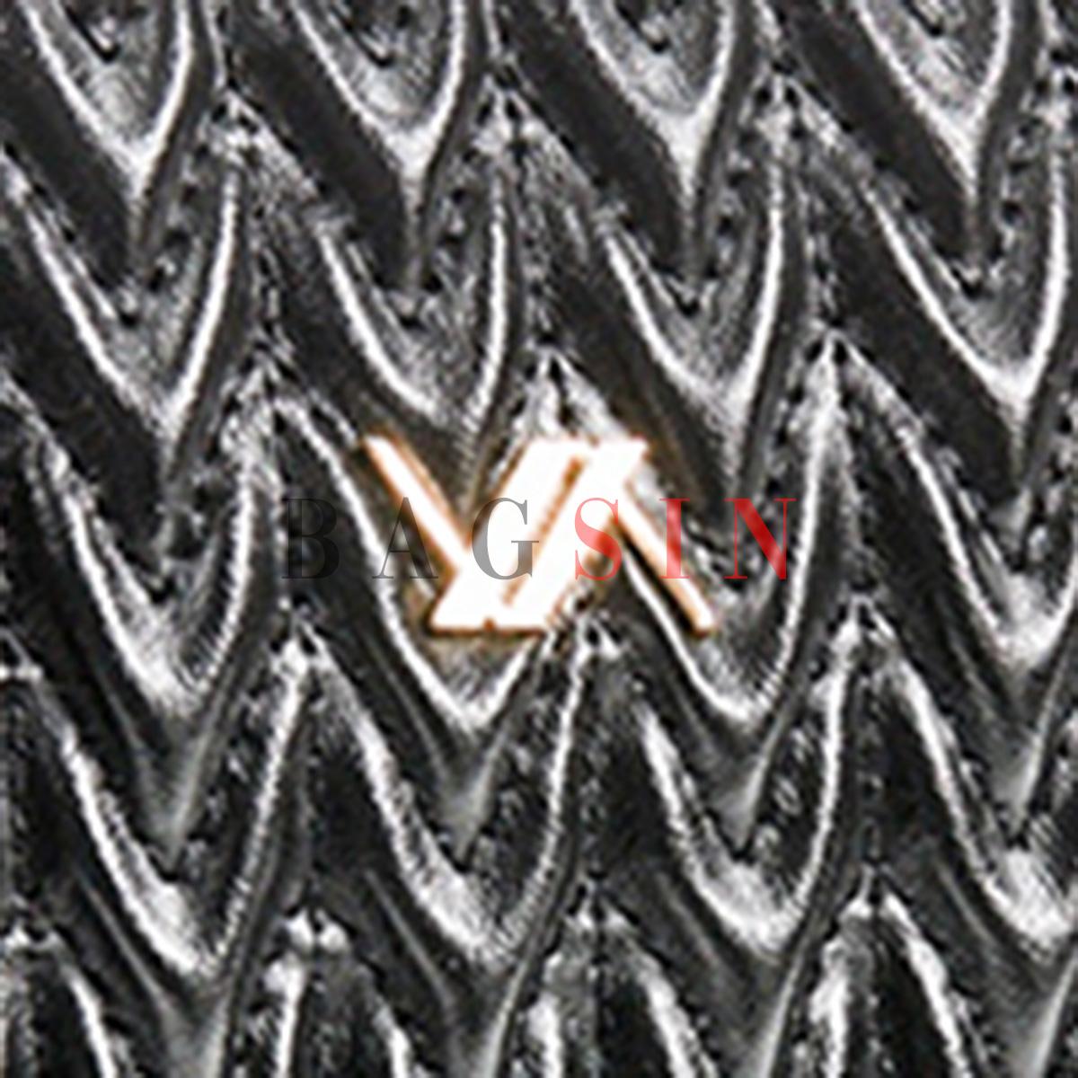 Τσάντα Ώμου – Φάκελος Καπιτονέ Με Αλυσίδα & Λαβή Verde 16-6043 Μαύρη