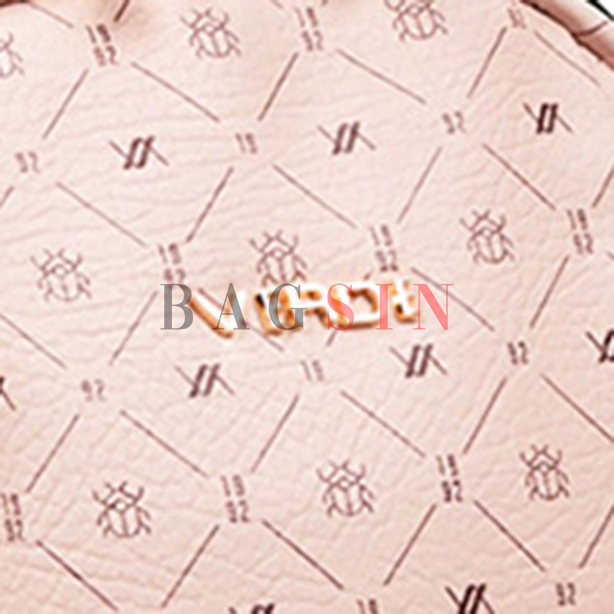 Σακίδιο Πλάτης Πολυθέσιο Με Λογότυπο Verde Backpack 16-6049 Ροζ
