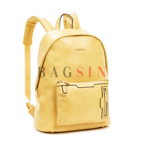 Σακίδιο Πλάτης Μαλακό Verde Backpack 16-6027 Κίτρινο