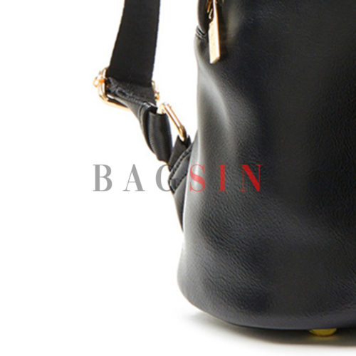 Σακίδιο Πλάτης Μαλακό Verde Backpack 16-6027 Μαύρο