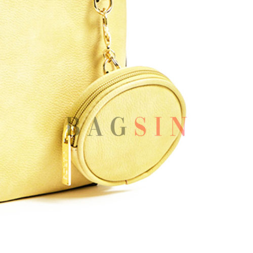 Σακίδιο Πλάτης Με Πορτοφόλι Verde Backpack 16-5957 Κίτρινο