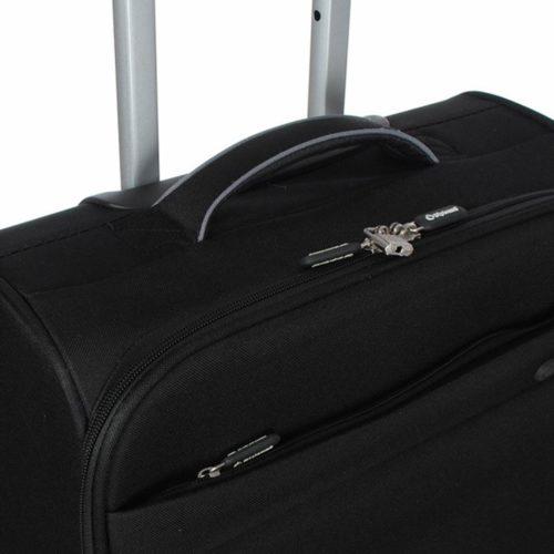 Βαλίτσα Καμπίνας Diplomat ZC600-55 Μαύρη