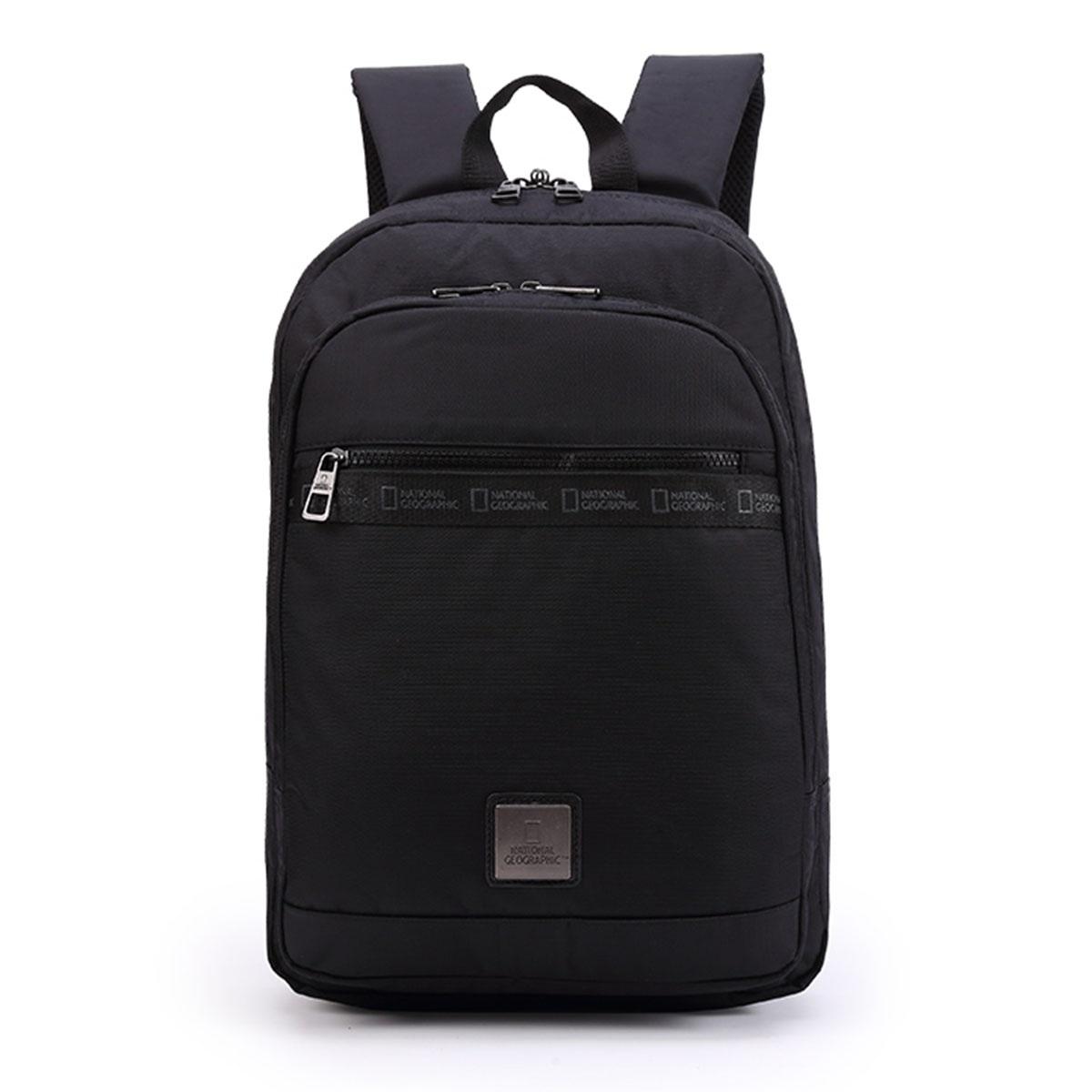 Backpack Laptop National Geographic N04604 Μαύρο