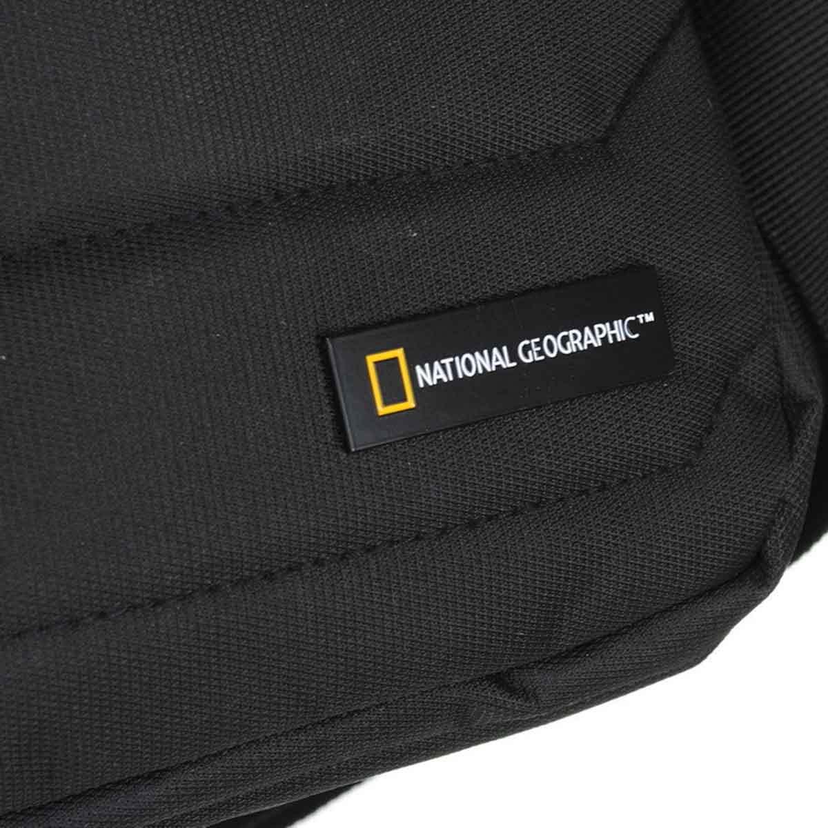 Τσαντάκι Χιαστί National Geographic N00702 Μαύρο