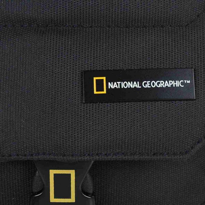 Τσαντάκι Χιαστί National Geographic N00703 Μαύρο
