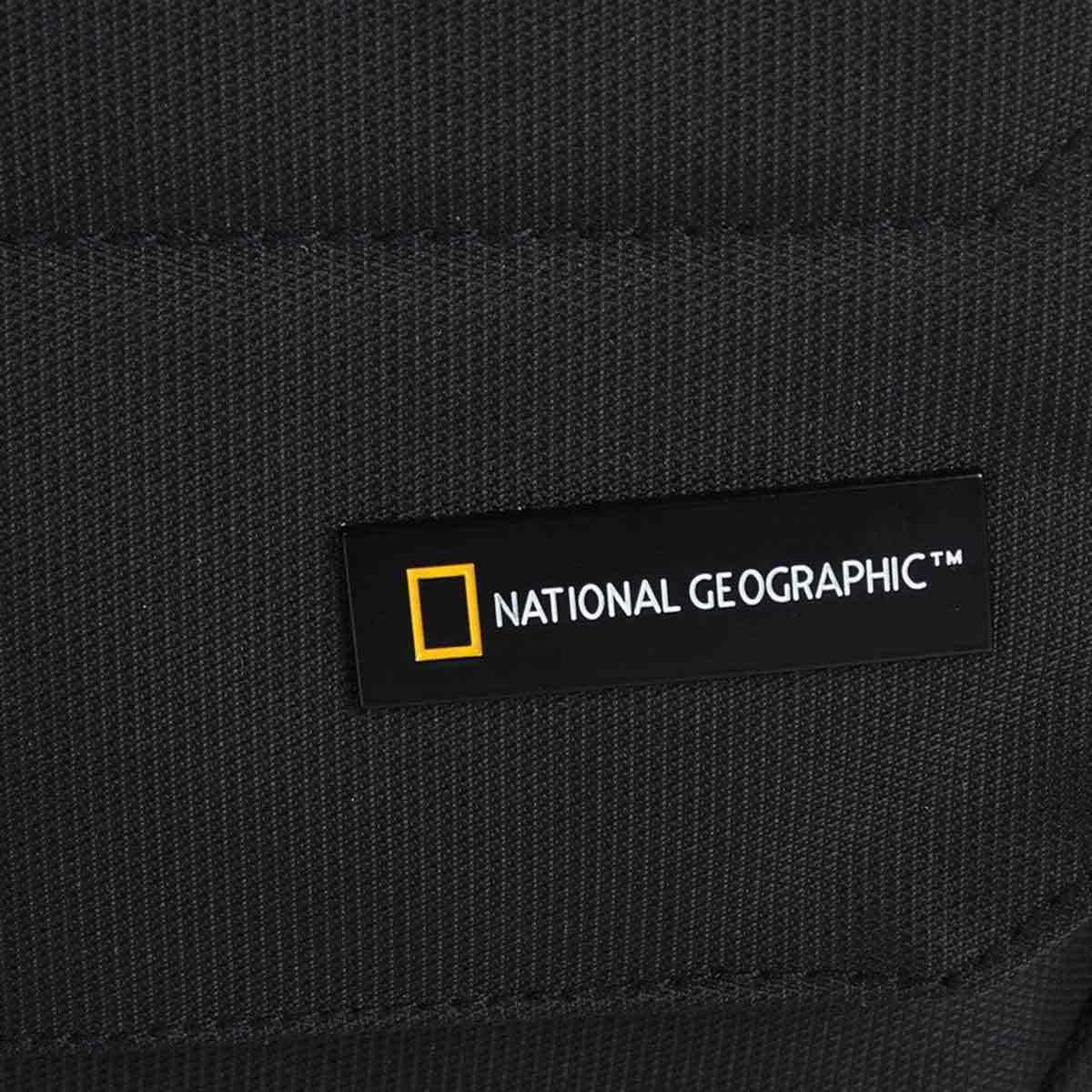 Τσαντάκι Χιαστί National Geographic N00704 Μαύρο
