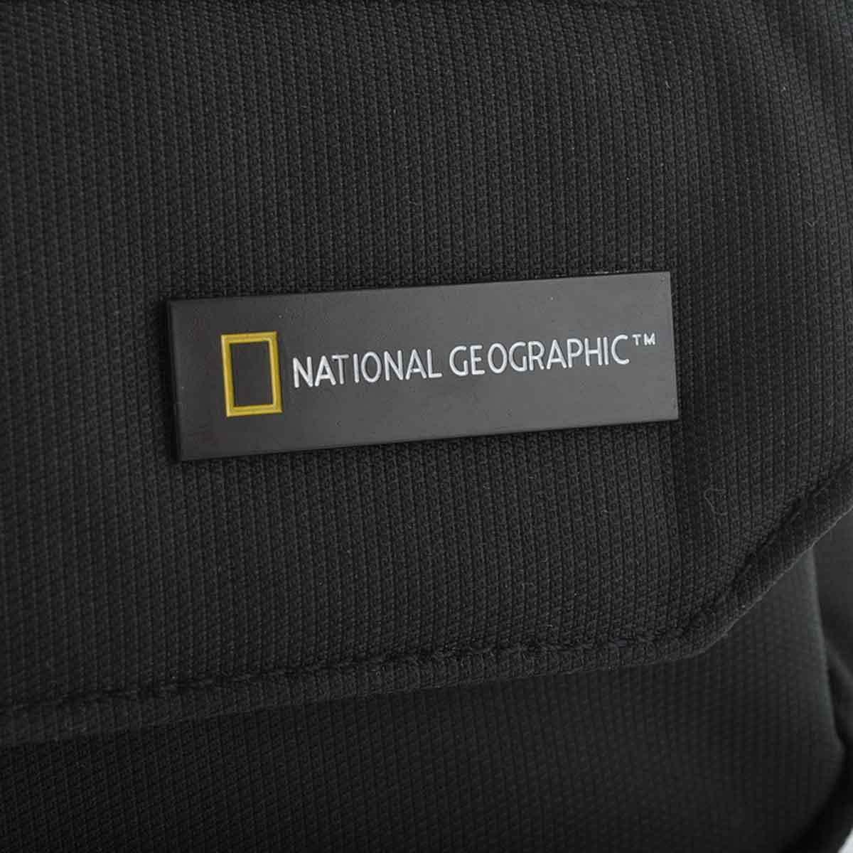 Τσαντάκι Χιαστί National Geographic N00707 Μαύρο