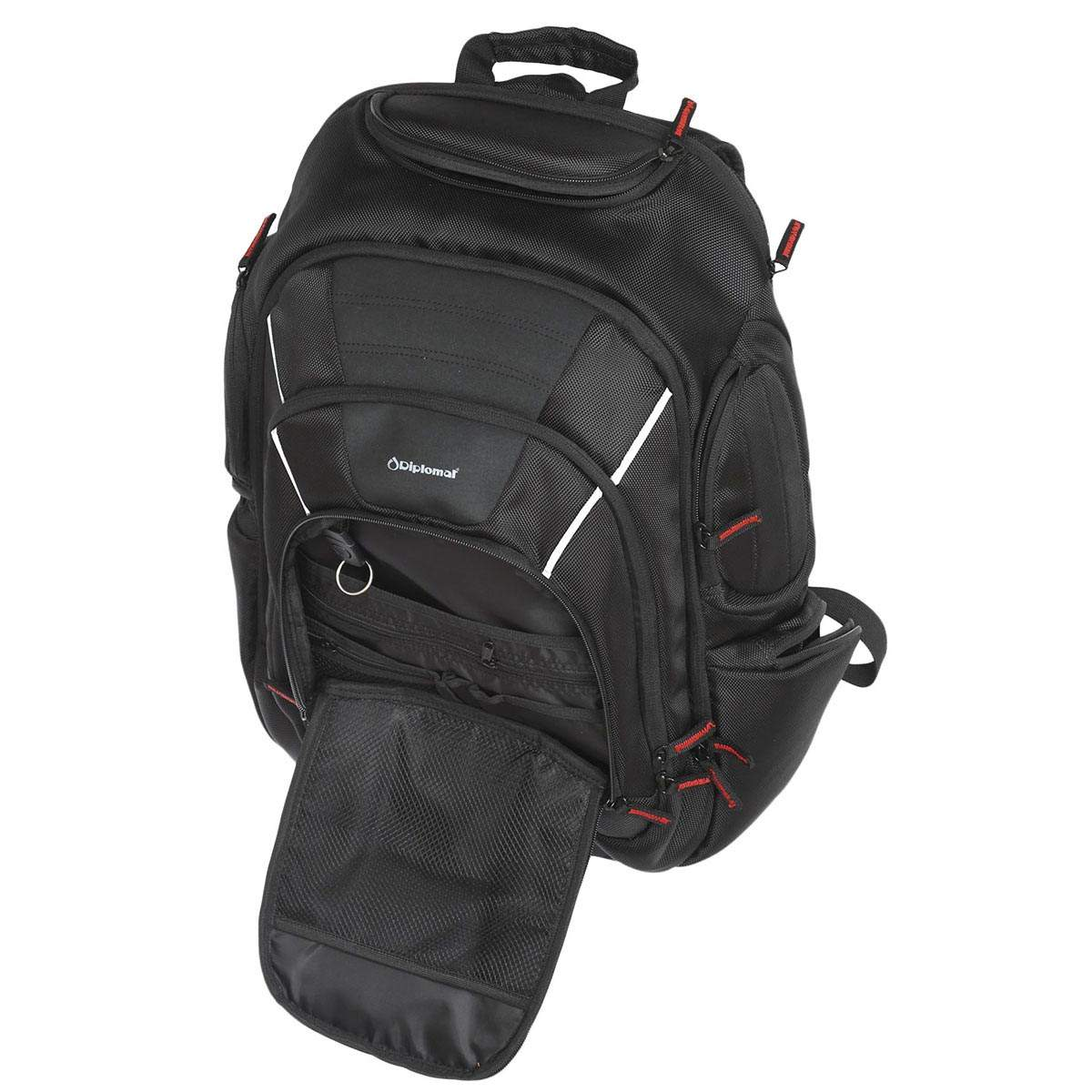 d89cd61ac7 Σακίδιο Πλάτης Diplomat Backpack Laptop LC655 Μαύρο
