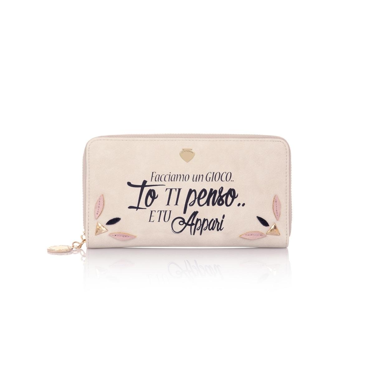 Πορτοφόλι Le Pandorine G02166 Μπεζ Ροζ