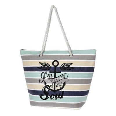 5d620ad50e Τσάντα Ώμου-Θαλάσσης Με Άγκυρα Seagull Diplomat SUN150 Πολύχρωμη
