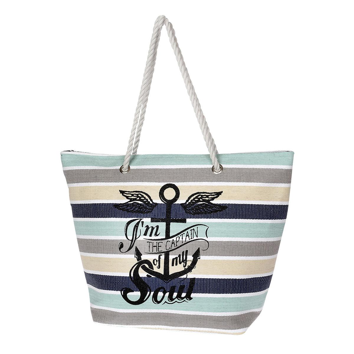 e170988647 Τσάντα Ώμου-Θαλάσσης Με Άγκυρα Seagull Diplomat SUN150 Πολύχρωμη ...