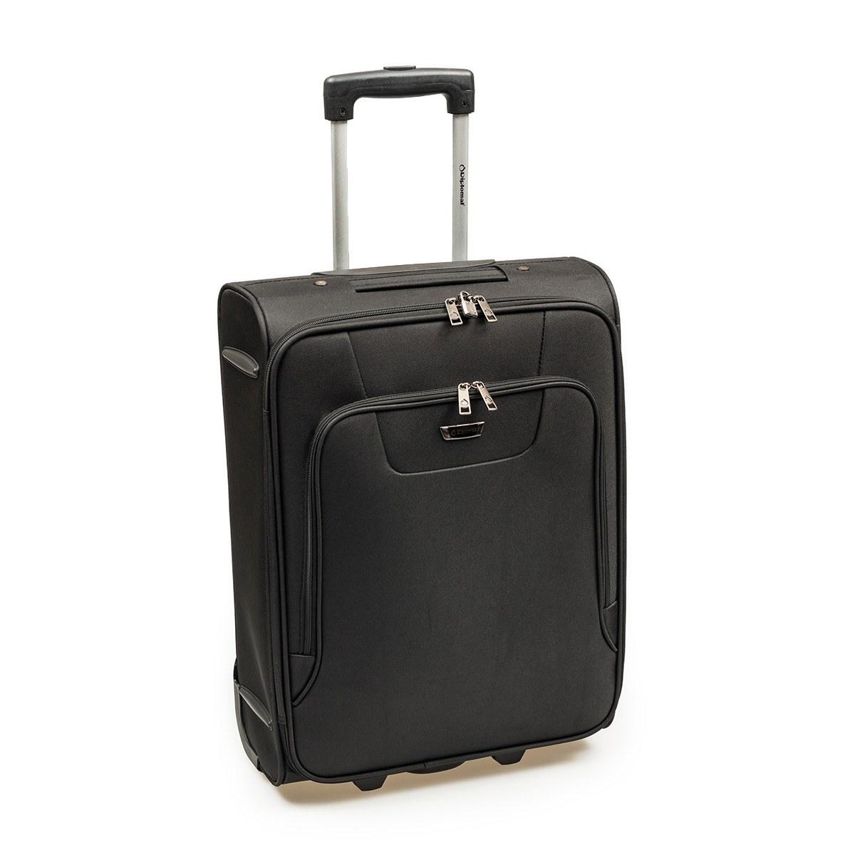 Βαλίτσα Καμπίνας Diplomat ZC980-55cm Μαύρη