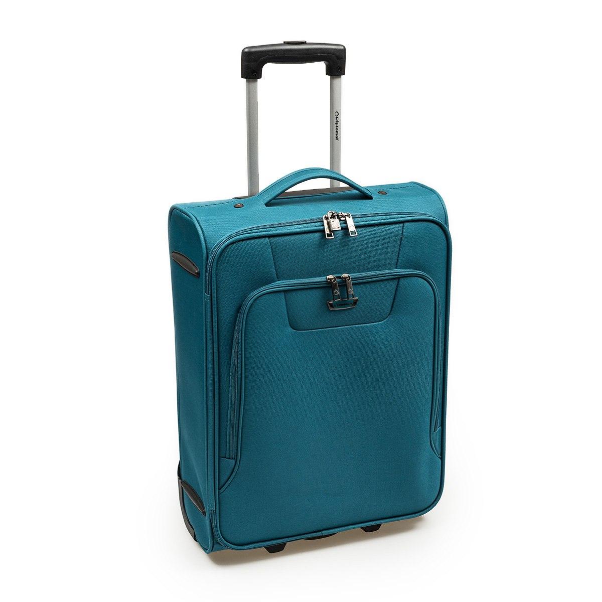 Βαλίτσα Καμπίνας Diplomat ZC980-55cm Πετρόλ