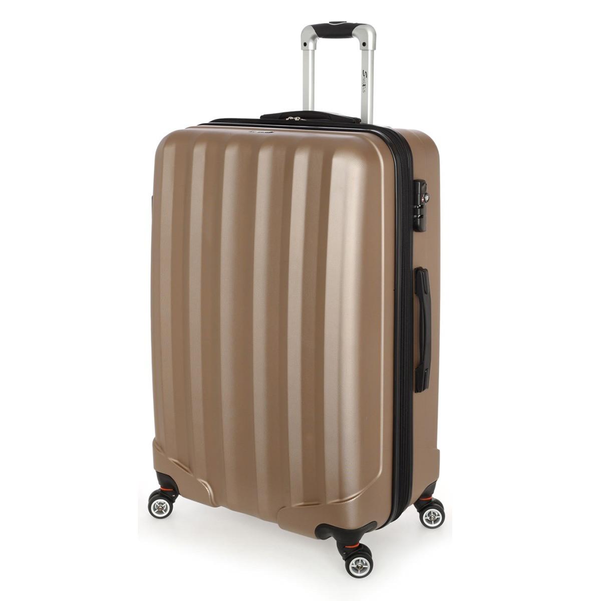 Βαλίτσα Μεγάλη Stelxis ST505 Σκληρή Χρυσή