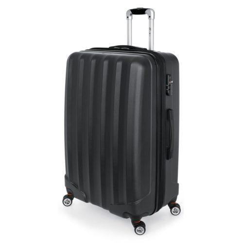 Βαλίτσα Μεγάλη Stelxis ST505 Σκληρή Μαύρη