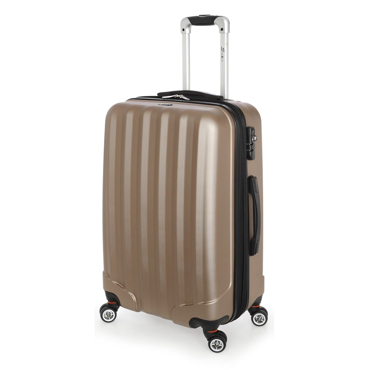 Βαλίτσα Μεσαία Stelxis ST505 Σκληρή Χρυσή