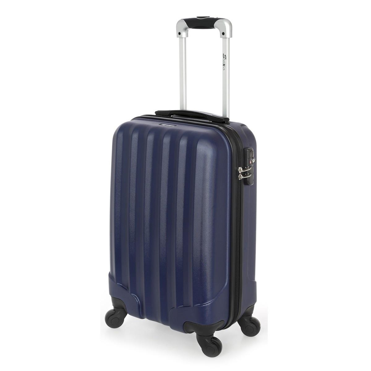 Βαλίτσα Καμπίνας Stelxis ST505 Σκληρή Μπλε